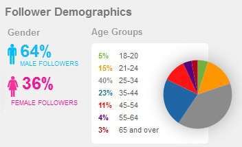 Twitter Followers Demographics
