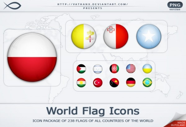 Ultimate Collection of National (Country) Flag Icon Sets