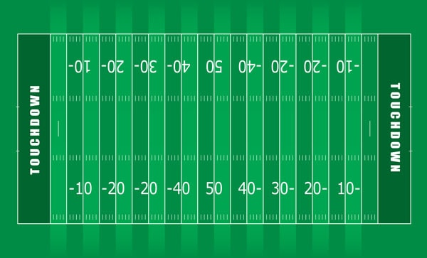 Grid based design theory designmodo for Blank football field template