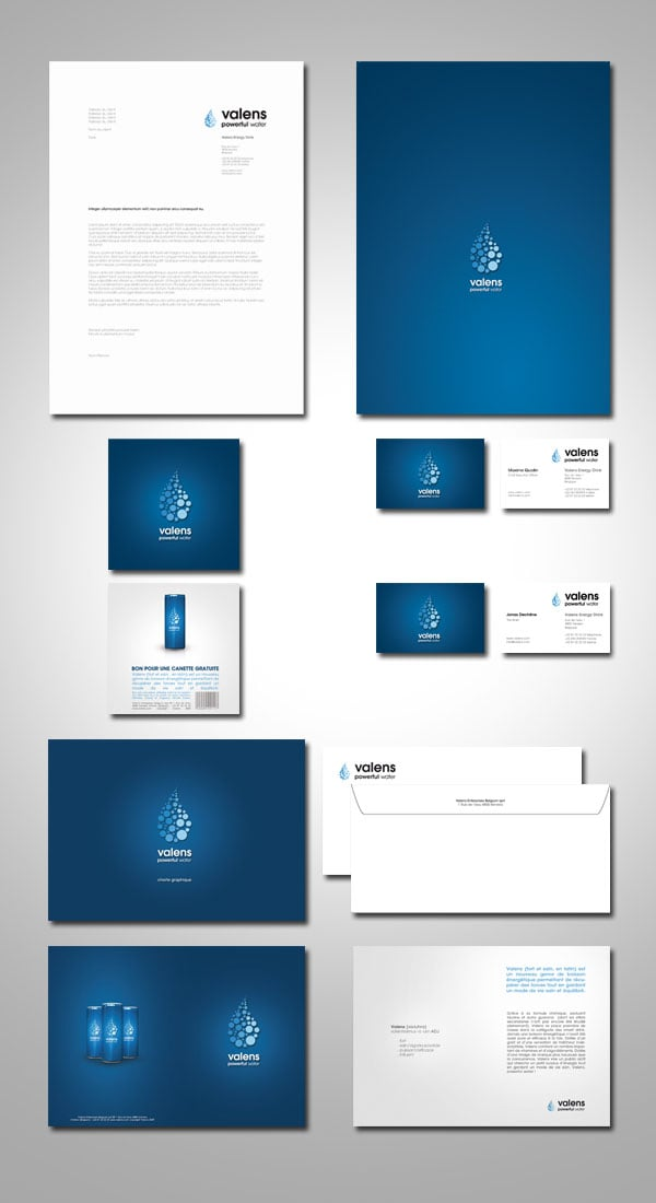 35  examples of branding  u0026 corporate identity design