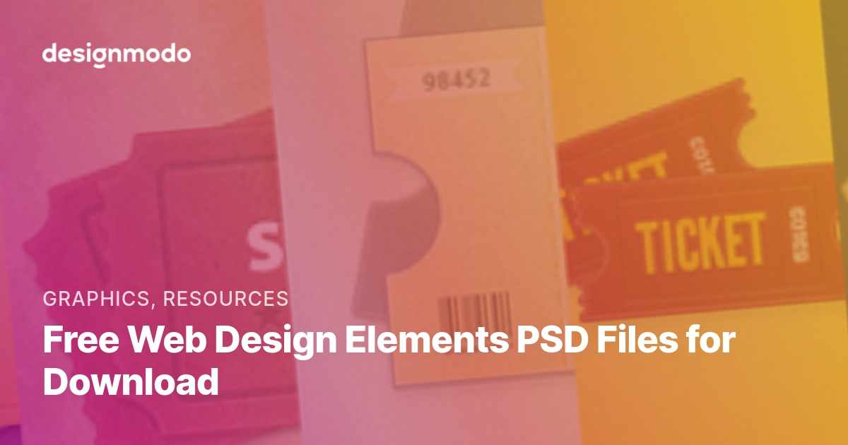 Free Web Design Elements Psd Files For Download