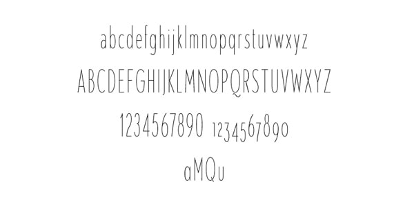 20+ Free Geometric Sans-Serif Fonts - Designmodo