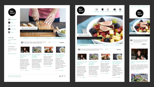 Responsive web design 50 examples and best practices for Best designed magazine websites