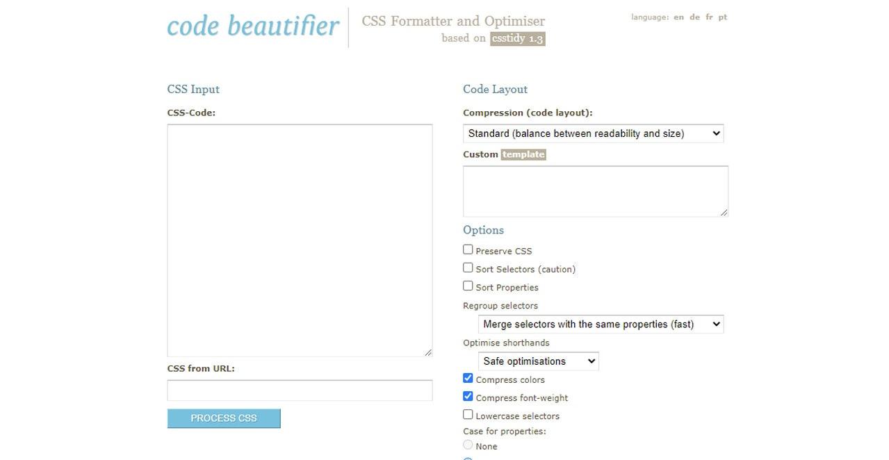Code Beautifier