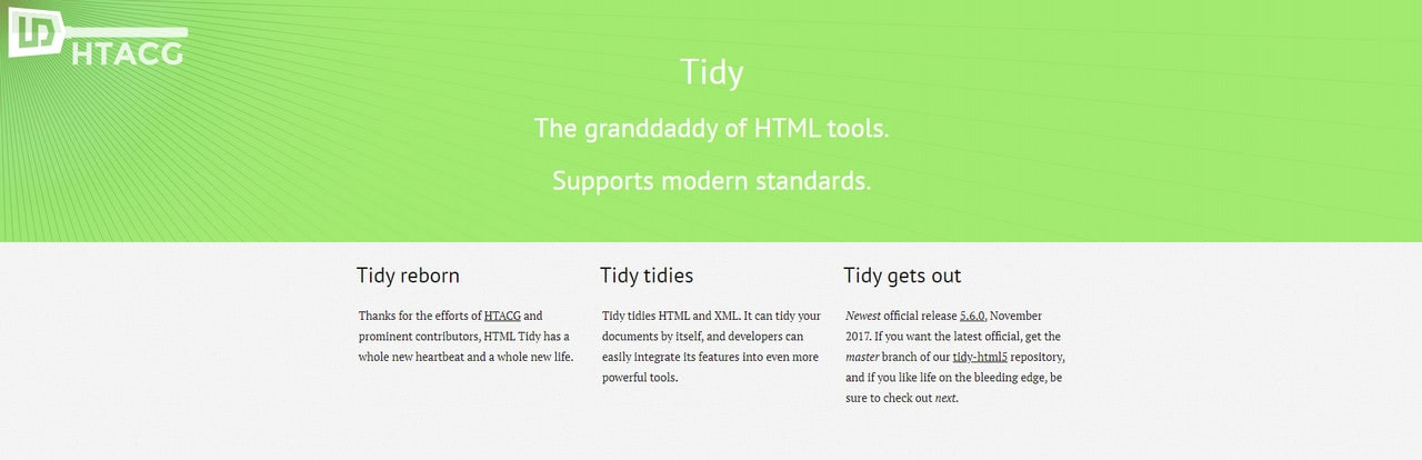HTML Tidy.org