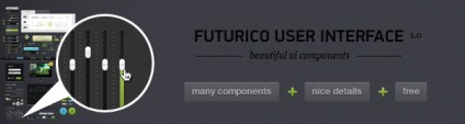 Futurico UI Free – User Interface Elements Pack