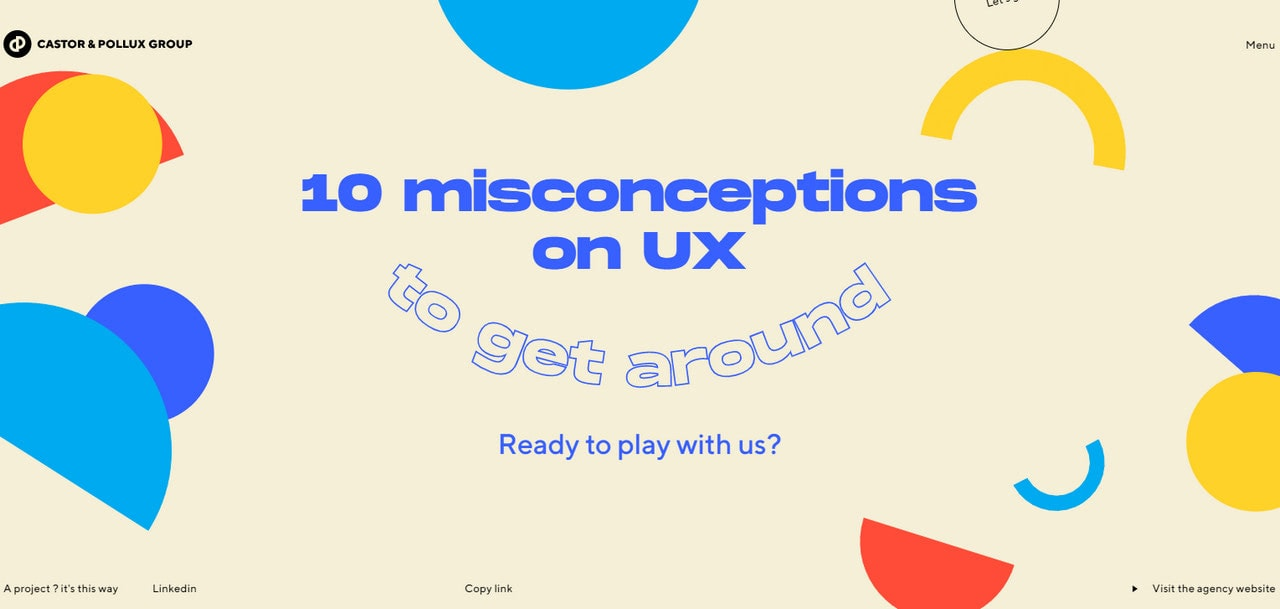 10 Misconceptions on UX