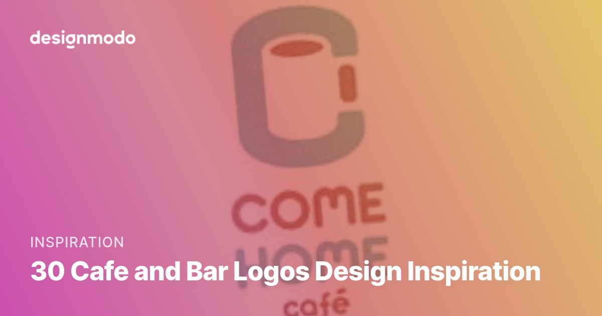 30 Cafe And Bar Logos Design Inspiration Designmodo