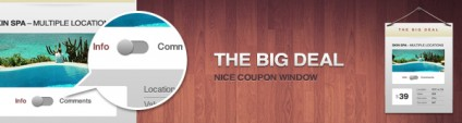 The Big Deal – Free Elegant Coupon Window (PSD)