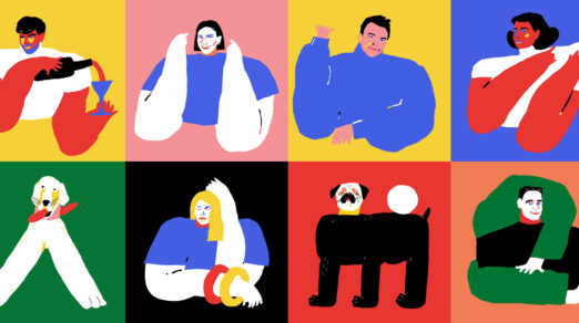 Examples of How to Use People Illustrations on Websites