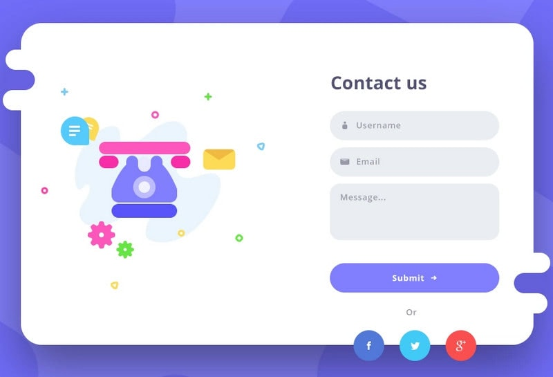 UX Tips for Contact Form Designs