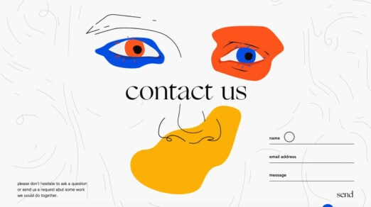 Examples of Creative Contact and Web Form Designs