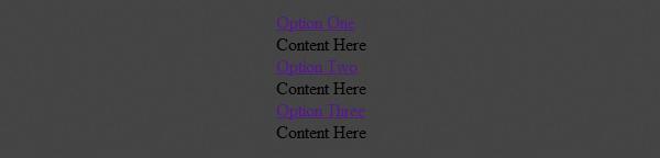 Basic HTML Markup
