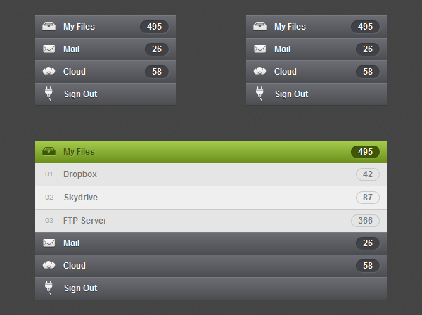 How to Create Accordion Menu in Pure CSS3 - Designmodo