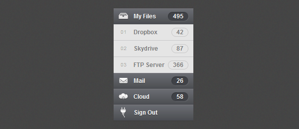 How to Create Accordion Menu in Pure CSS3 - Designmodo