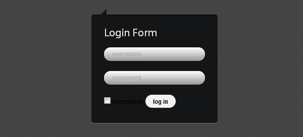 How to Create Login Form with CSS3 and jQuery - Designmodo