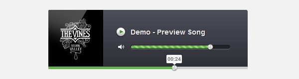 How to Create an Audio Player in jQuery, HTML5 & CSS3