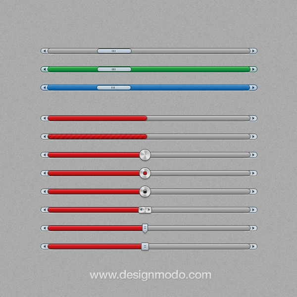 How to Create a UI Sliders Set [Tutorial]