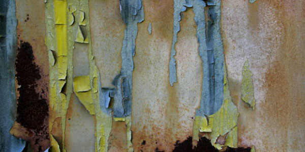 Colorful and Peeling Rust Textures