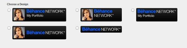 Behance Badges