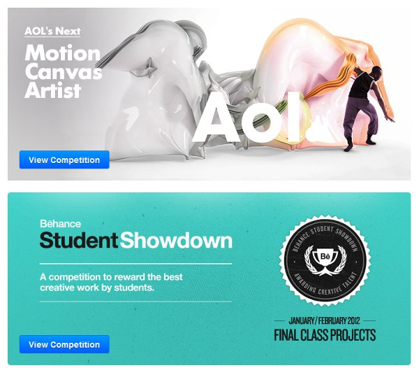 Behance Competitions