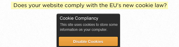 EU Cookie Law and How It Affects the Web