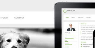 Free Virtual Business Card (vCard) HTML Website Templates and Layouts