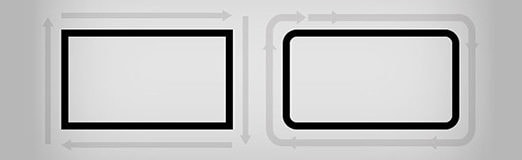 Rounded Corners and Why They Are Here to Stay