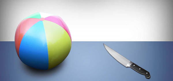 Ball vs Knife