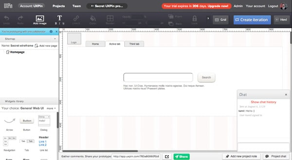 Encourage them to express their thoughts visually by co-wireframing