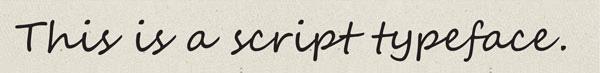 Script or Cursive