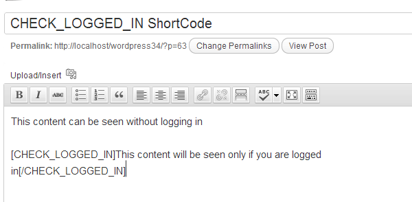 WordPress Shortcodes Image 5