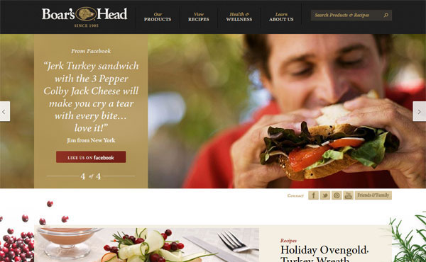 Restaurant web designs yummy cafe