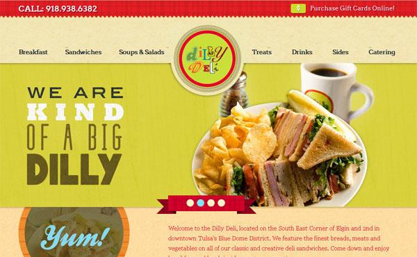 Restaurant web designs 40 yummy cafe restaurant websites and dillydelitulsa forumfinder Gallery
