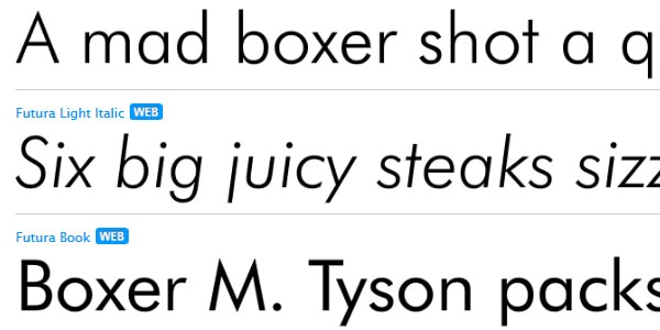 Sans Serif Fonts: Most Popular Typefaces, Best for Webfonts ...