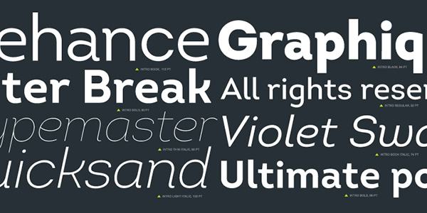 Sans Serif Fonts: Most Popular Typefaces, Best for Webfonts - Designmodo