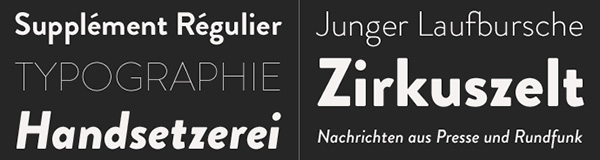 Six Great Alternatives to Helvetica