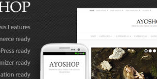 Free WordPress Theme: AyoShop – Responsive eCommerce Child Theme