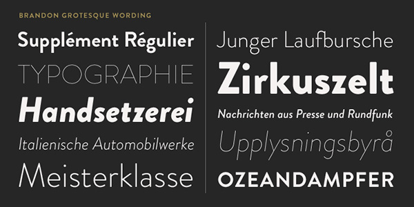 Six Great Alternatives to Helvetica - Designmodo