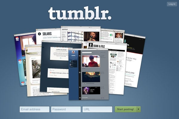 Tumblr Old Sign Up