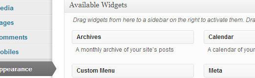 Understanding and Using Widgets in WordPress