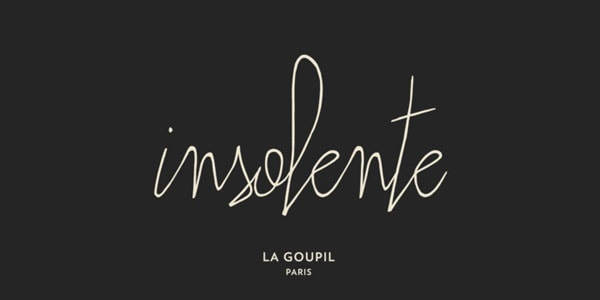 Insolente Has An Ultra Narrow And A Bit Quirky Appearance That Lets Create Modern Projects With Fashion Vibe It Mimics Human Signature Gives Headings