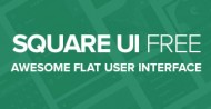 Square UI Free – User Interface Kit