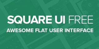 Square UI Free – User Interface Kit