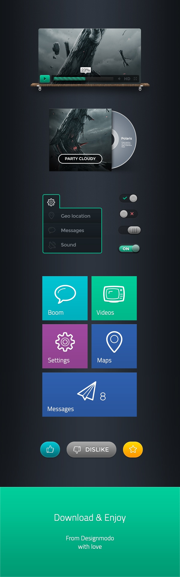 Polaris UI Free Presentation