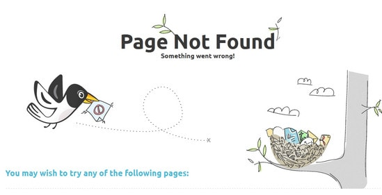 Effective 404 Error Pages: Best Practice and Examples - Designmodo