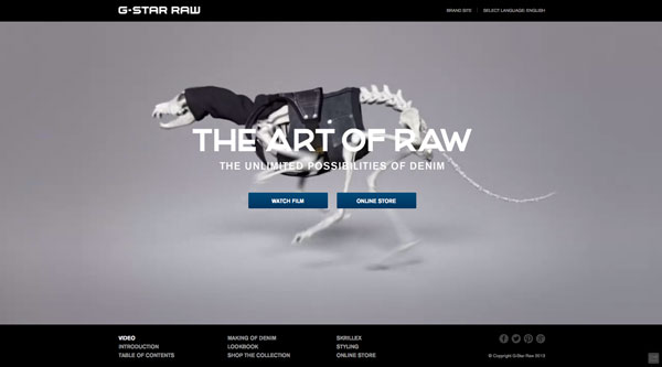 G-Star - The Art of RAW