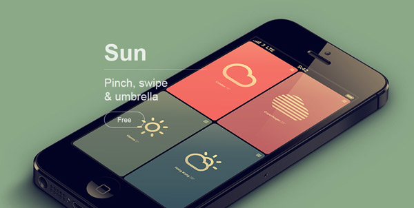 Pattern sun