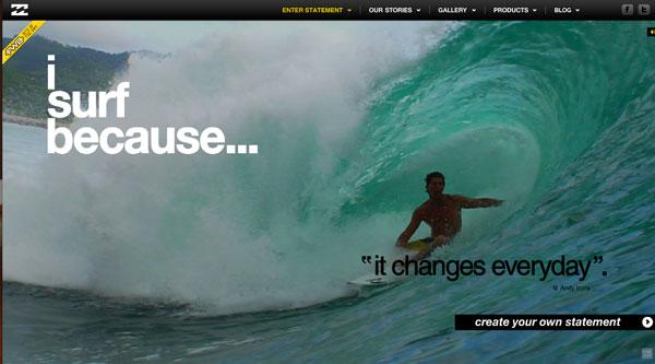 I Surf Because - Billabong