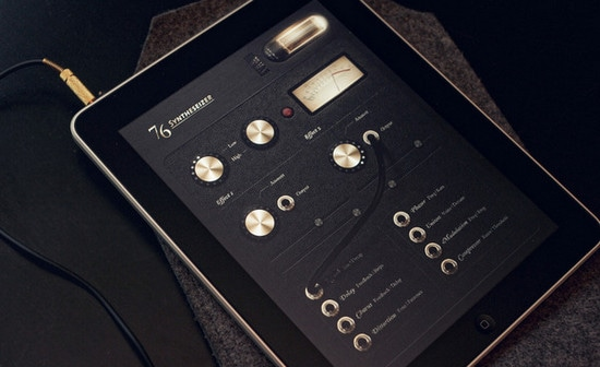 76 Synthesizer Concept by Jonas Eriksson